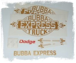 Lil Red Express Decal Set