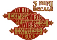 Lil Red Express Stickers
