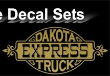 Dakota Express Decal Set